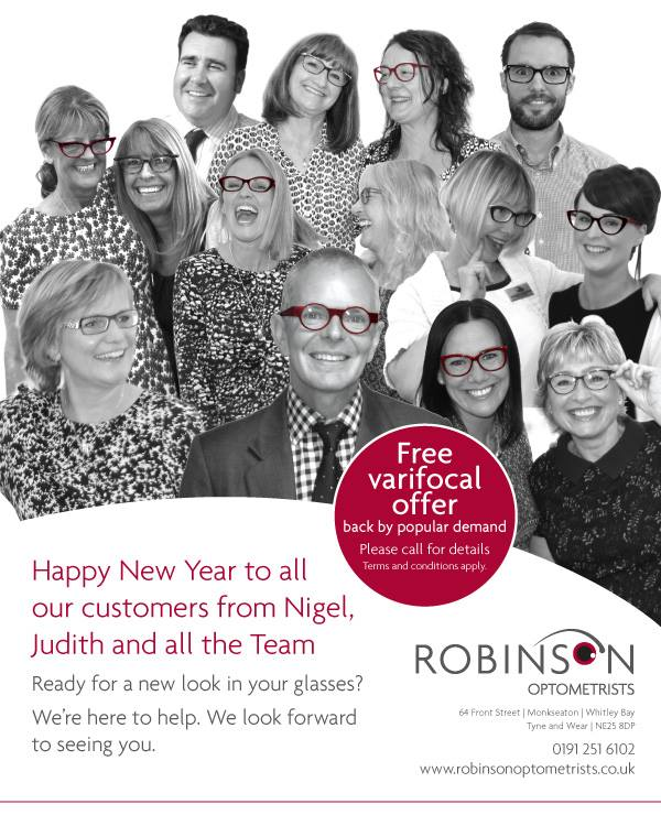 Fancy a New Look for 2016? What can have a more dramatic effect than stylish new glasses? We look forward to welcoming You!