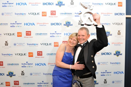 Nigel and Judith, Robinson Optometrists National Opticians Awards 2012 Winners, Independent Practice of the Year image