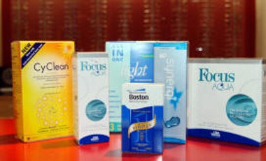 Contact lenses at Robinson Optometrists, Newcastle image