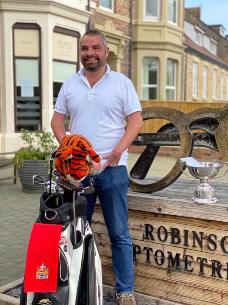 Jonathan Jones - British Golf Open Champion from Whitley Bay
